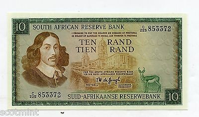 South Africa 10 Rand  Banknote 1967-74