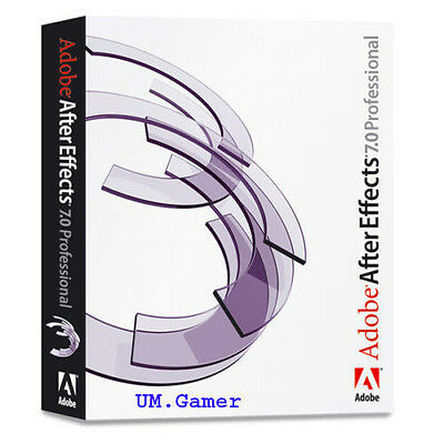 Adobe After Effects 7.0 for Windows/MAC - Instant Email Delivery - Full Version