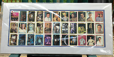 1979 STAR TREK  The MOTION PICTURE cards -  Matted 33 card UN-CUT SHEET-NM