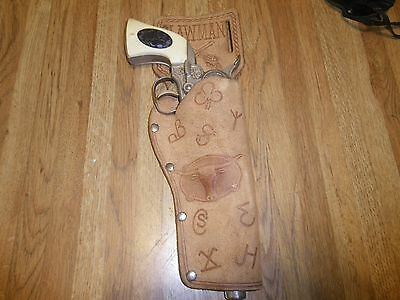 Vintage Lawman Holster And Marshall Cap Gun 1950's