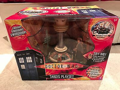 Doctor Who Tardis Playset - New & Sealed! 9th/10th Doctor