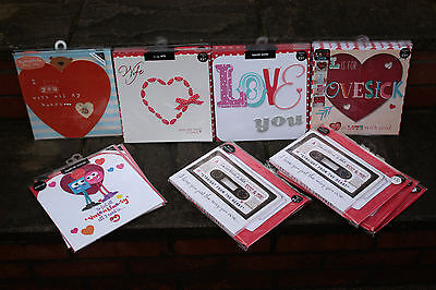 M&s Valentines Day Cards Job Lot-23Extra Large Rrp £85-Assorted Designs-Set A.
