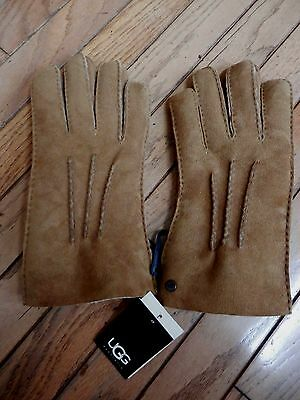 New Ugg Man's Sherling Leather Winter Gloves