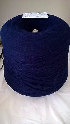 LOT 41 1ply 2/28 836g Navy Hand or Machine Knitting Yarn on Cone