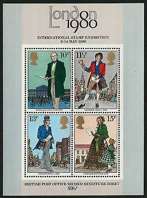 GREAT BRITAIN 1980 VF MNH Souvenir Sheet Sc# 872a International Stamp Exhibition