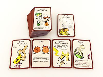 Munchkin Deluxe Replacement / Expansion Door Game Card Deck 95pc
