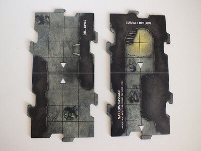 Dungeons & and Dragons - Full set of Legend of Drizzt  dungeon tiles - brand new