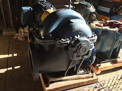 AURORA centrifugal Pump model 411 12x14x15B with 100 HP 1200 RPM Motor 444T