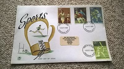 First Day Cover Sports Stamps