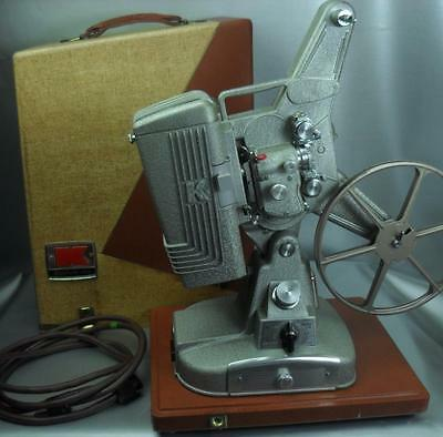 Vintage Keystone 109D 8Mm Projector With Case