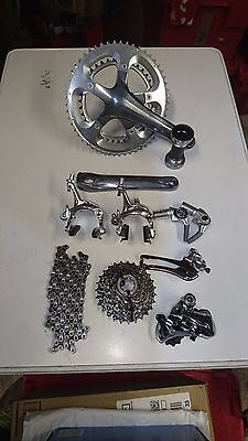 Shimano mostly Dura Ace 9 speed time trial/triathlon groupset