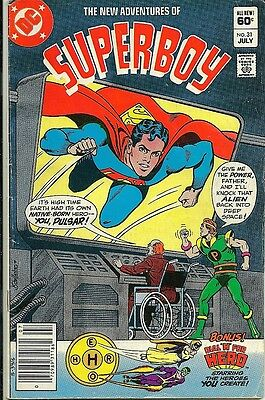 The New Adventures of Superboy #31  * VG+