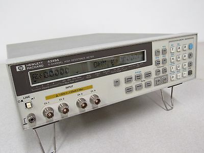 (HP, Agilent) 4349A 4-Channel High Resistance Meter