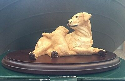teviotdale Golden Labrador With Pup New Boxed