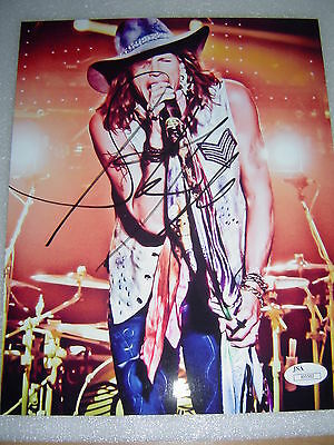 "Steven Tyler Signed Auto ""Aerosmith"" 8x10 Photo JSA COA"