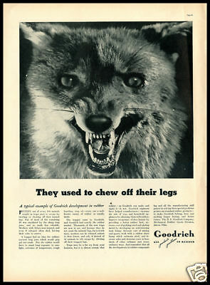 1937 vintage ad for Goodrich Tires