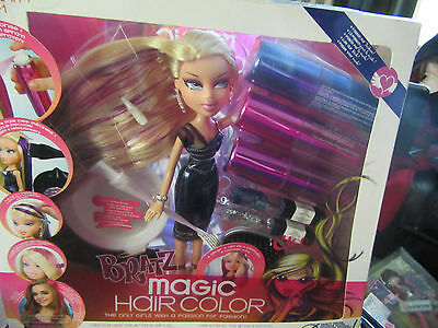 Bratz Boxed Magic Hair Colour Cloe. Rare