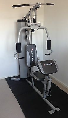 Maximuscle Home Vertical Multi Gym New Years Resolution Get Fit Weight Training