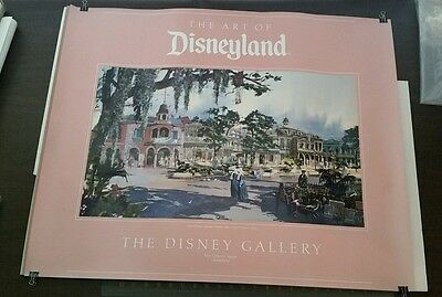 Art of Disneyland NEW ORLEANS SQUARE general view by Ryman Park Exclusive Poster
