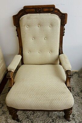 vintage/antique beautiful occassuonal/bedroom/nursing chair stunning vgc
