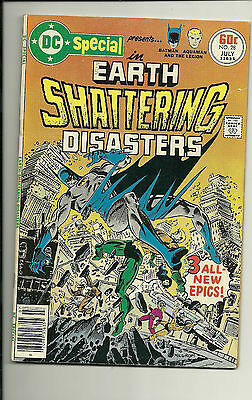 """1977 DC Special #28 """" Earth Shattering Disasters"""" (DC Comics)  *VG+*"""