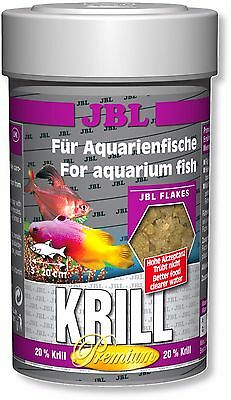 JBL Premium Krill Flakes 100ml Protein Rich Fish Flake Food