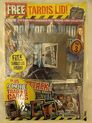 Doctor Who Monster Magazine Part 3 with free Tardis Lid and stickers