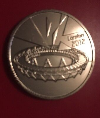 LONDON OLYMPIC 50p 2012 2011 COMPLETER MEDALLION Sports Coin Hunt Rare