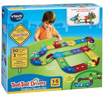 Vtech Baby - Toot Toot Drivers Deluxe Track Set  *brand New In Box*
