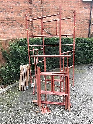 Scaffolding Tower Steel Tower 4x2