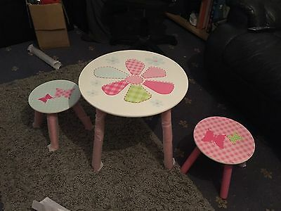 Child's table And Stool Set Brand New