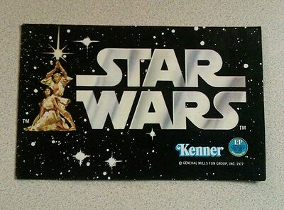 Vintage Star Wars Kenner Early Bird Rare Style Catalog W/ 12 Figure Preview!