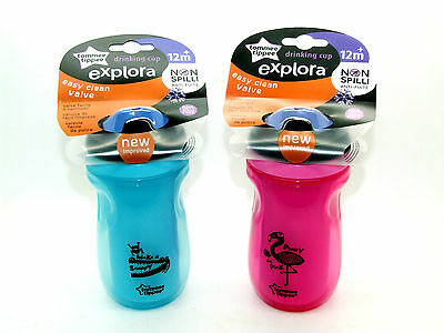 Tommee Tippee Explora Non Spill Drinks Bottle - Sipper Bottle - 2 Designs