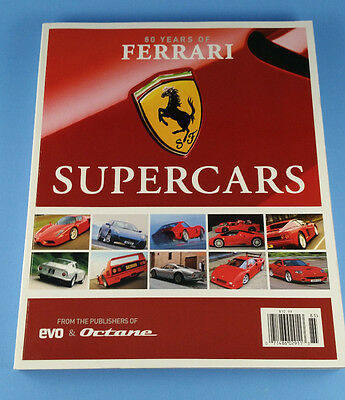 60 Years of Ferrari Supercars from Publishers of EVO & Octane - 258 page book!