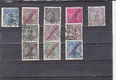 PORTUGAL D. MANUEL II STAMPS  (1910)     Used