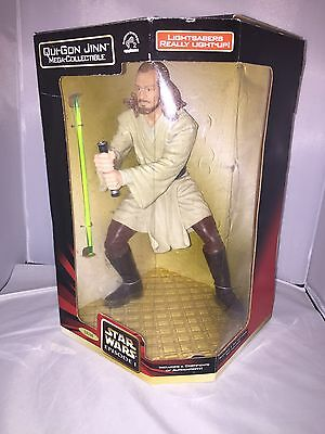 Star Wars Episode I Qui-Gon Jinn Mega-Collectible Figure By Applause