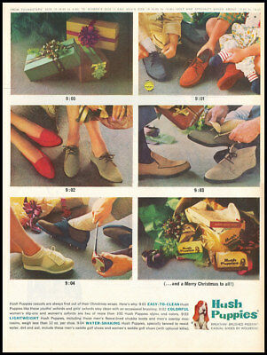 1963 vintage ad for Hush Puppies Shoes -467