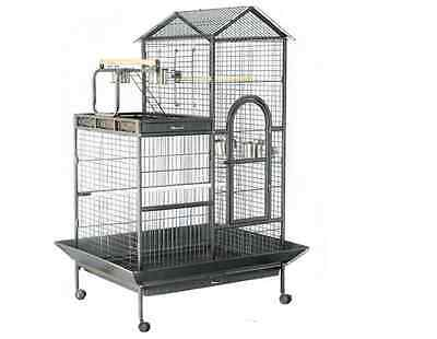 Large African Grey & Parrot Cage with Playstand-