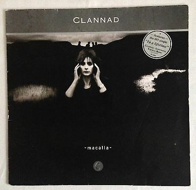 Clannad, Macalla, Irish Folk, 33RPM LP, Vinyl (12-inch)