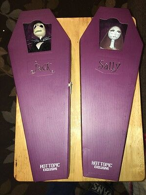 Jack & Sally Hot Topic Limited Edition Dolls Nightmare Before Christmas New