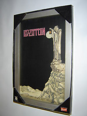 Led Zeppelin Wall Art Stairway to Heaven in 3D (Heavy Solid Wood Frame) 2006