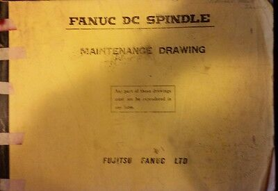 Fanuc Original Dc Spindle Maintenance Drawings