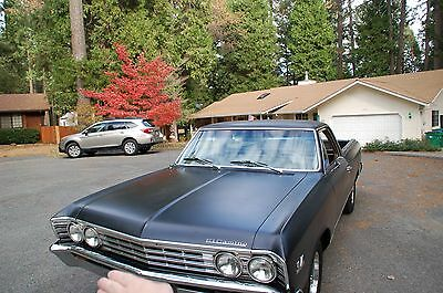 1967 Chevrolet El Camino Numbers Matching 396 1967 El Camino Matching Numbers 396ci 350HP
