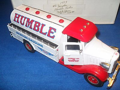 1993 Marx Toys #1 Sampler Humble Tanker Red And White/chrome 264 Made