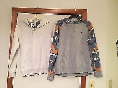 Mens Long Sleeve Hoodies (Lot of 2) - Size Large