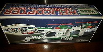 2001 hess truck helicopter