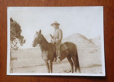 RARE Harmon Percy Marble American Indian On Horse photo