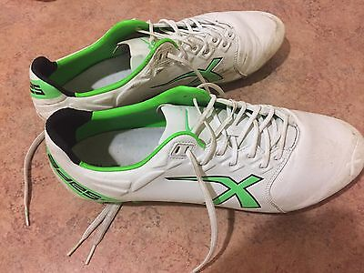 X Blades Sniper Sonic Elite Size 13 Wide Fit FG Rugby Boots Men's Football