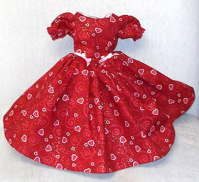 "20""  CISSY   Miss REVLON  FASHION  Clothes   SWIRLING  HEARTS  VALENTINE   DRESS"
