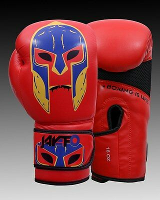 Leather Boxing Gloves Training Muay Thai Punching Bag Sparring Gloves Ufc MMA